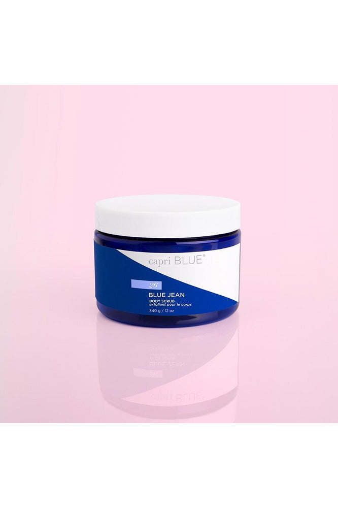 Capri Blue Body Scrub-12oz - Pink Possum