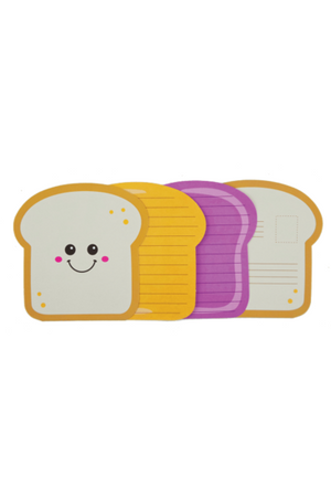 Peanut Butter & Jelly Stationery - Pink Possum
