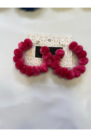 Pom Pom Chic'd Out Earring