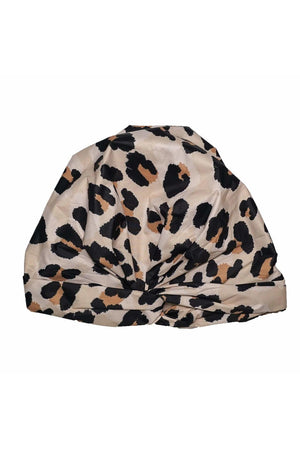 Luxe Shower Cap- Leopard