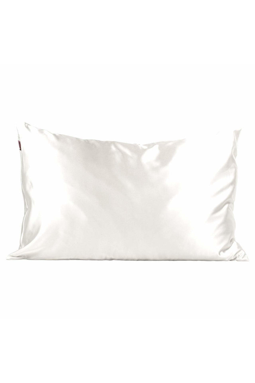 Ivory Satin Pillowcase- Standard