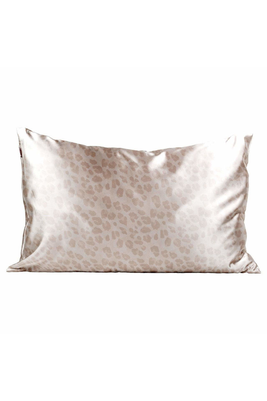 Leopard Satin Pillowcase- Standard