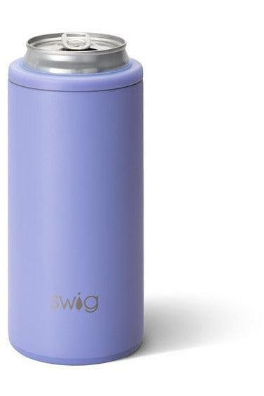 Matte Hydrangea Skinny Can Cooler (12oz)