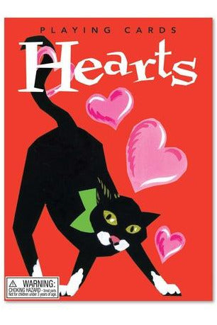 Hearts Playing Cards - Pink Possum