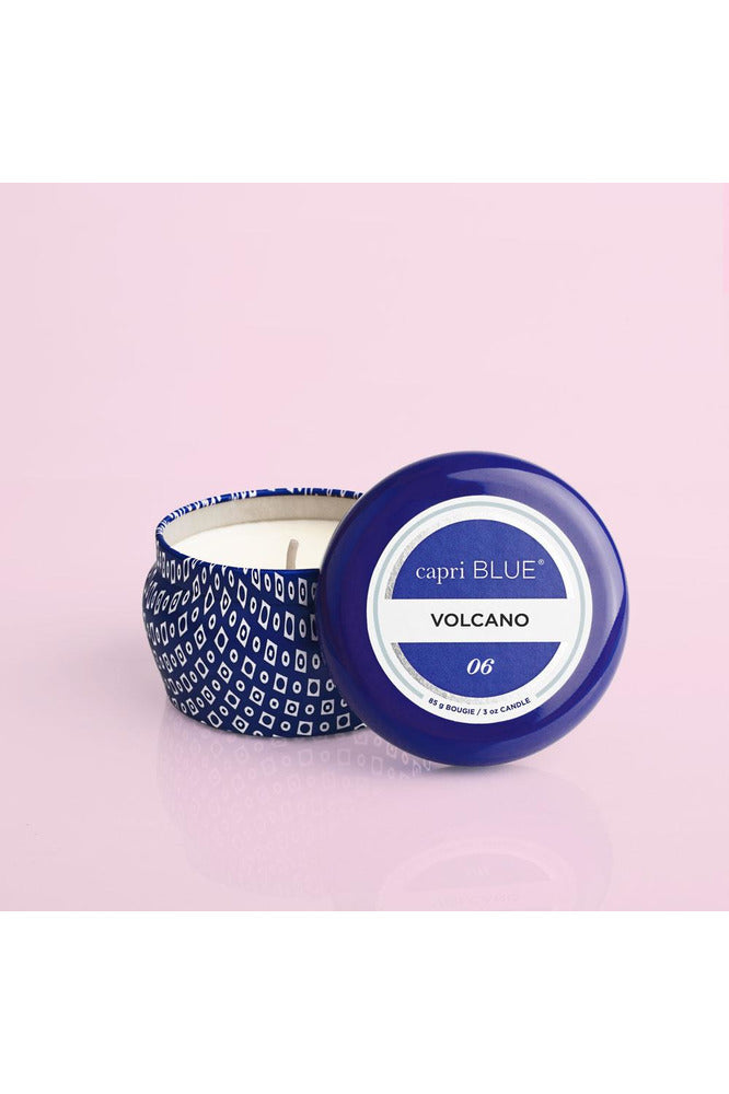 Volcano Blue Mini Tin, 3oz - Pink Possum