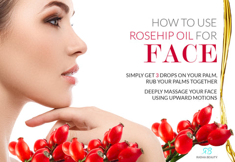 How to use rosehip oil for face