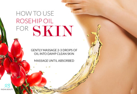 How to use rosehip oil for skin