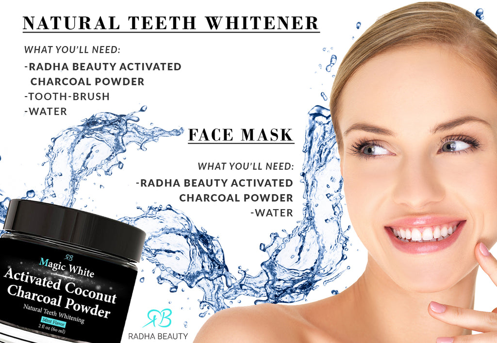 7efefdc59dd4d Surprising Ways to Use Activated Charcoal Powder – Radha Beauty
