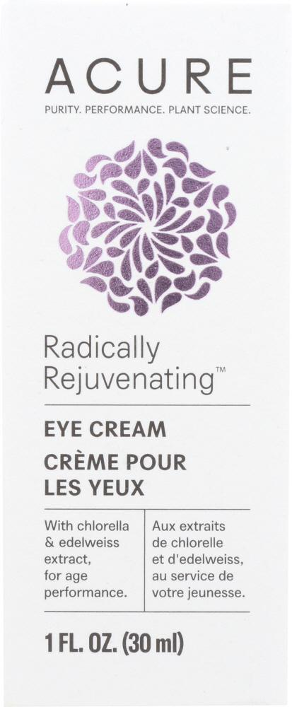 ACURE Radically Rejuvenating Eye Cream, 1 Fl Oz