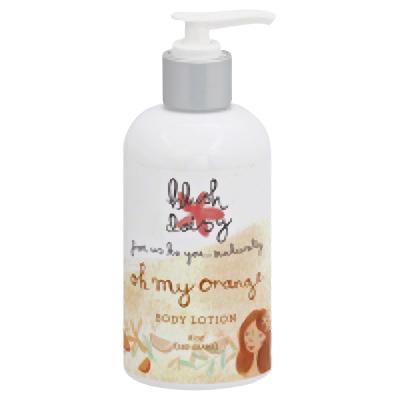 BLUSH Lotion Body Oh My Orange, 8 Oz