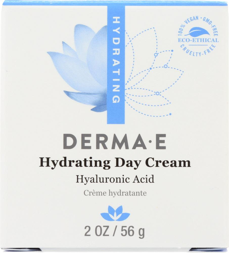 DERMA E Hydrating Day Cream With Hyaluronic Acid, 2 Oz