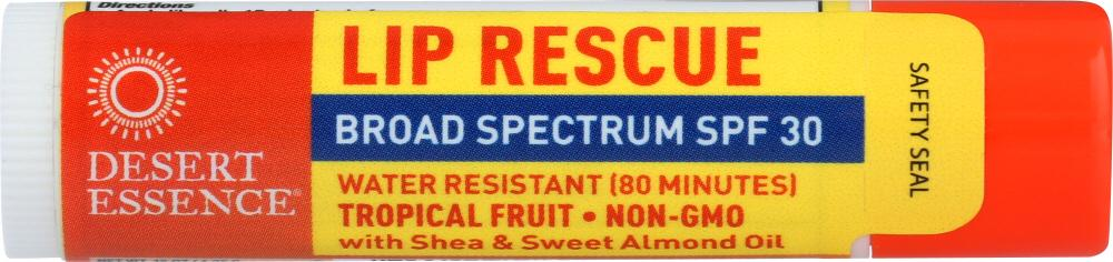 DESERT ESSENCE Lip Balm Tropical Fruit, .15 Oz