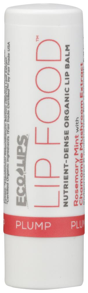 ECO LIPS Lip Balm Food Plump, 0.15 Oz