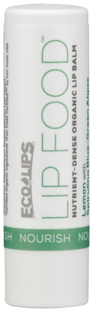 ECO LIPS Lip Food Nourish, 0.15 Oz