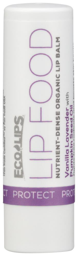 ECO LIPS Lip Food Nutrient-Dense Organic Balm, 0.15 Oz