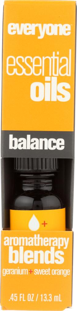 EVERYONE Aromatherapy Blend Pure Essential Oil Balance, 0.45 Oz