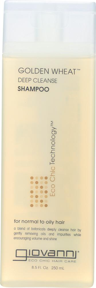 GIOVANNI Golden Wheat Shampoo For Normal To Oily Hair, 8.5  Oz
