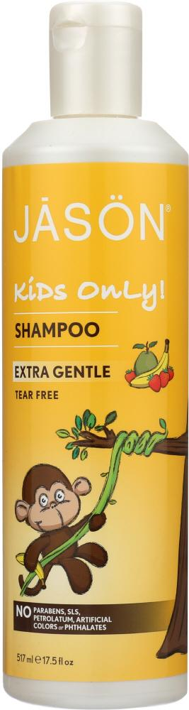 JASON Kids Only! All Natural Shampoo Extra Gentle, 17.5 Oz