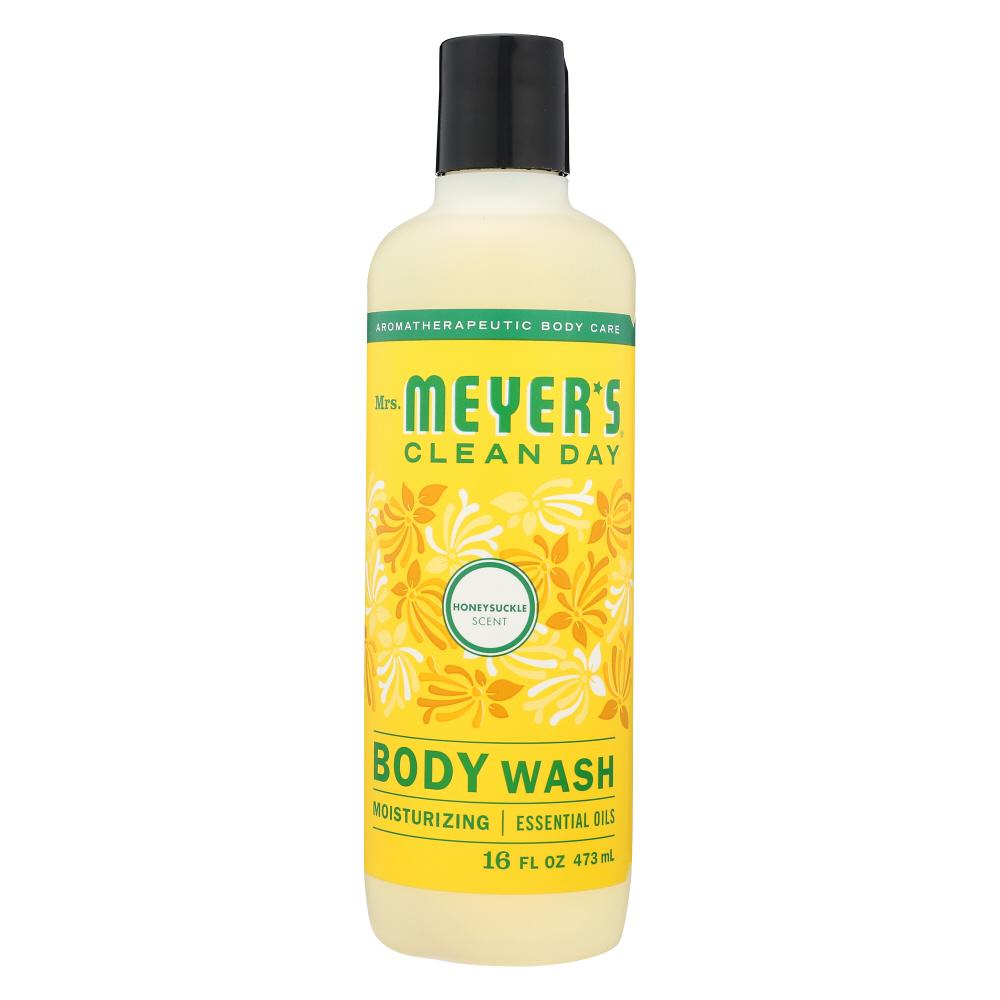 MRS MEYERS CLEAN DAY Wash Body Honeysuckle, 16 Fo