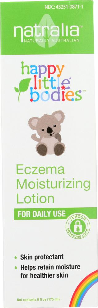 NATRALIA Happy Little Bodies Eczema Moisturizing Lotion, 6 Oz