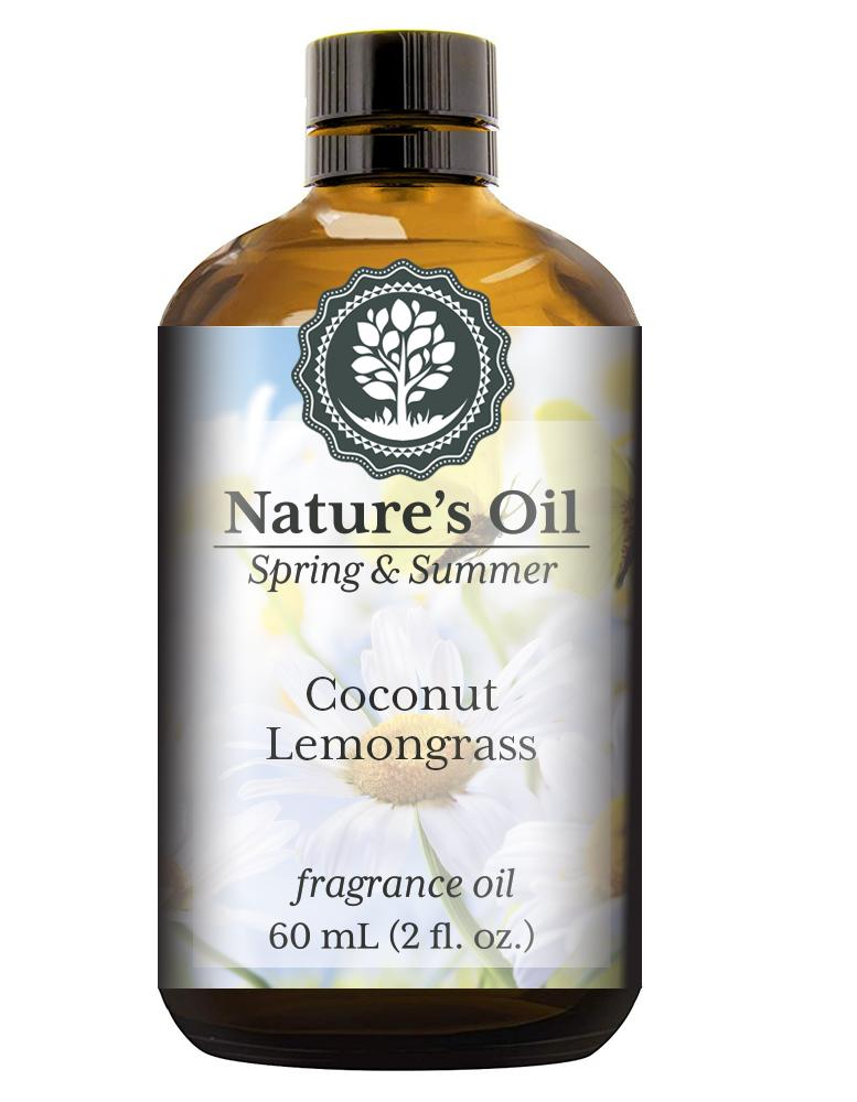 Nature's Oil Coconut Lemongrass Fragrance Oil