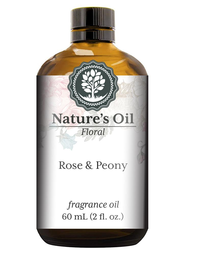Nature's Oil Rose and Peony Fragrance Oil
