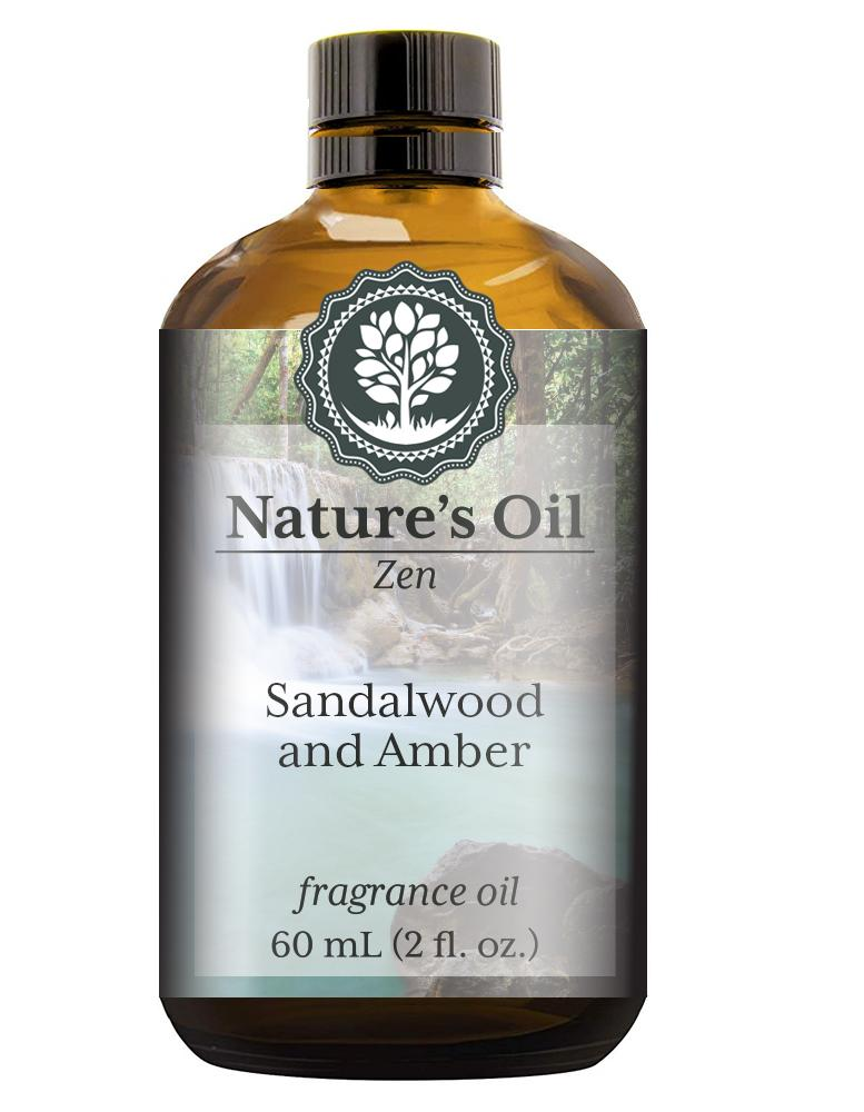Nature's Oil Sandalwood and Amber Fragrance Oil