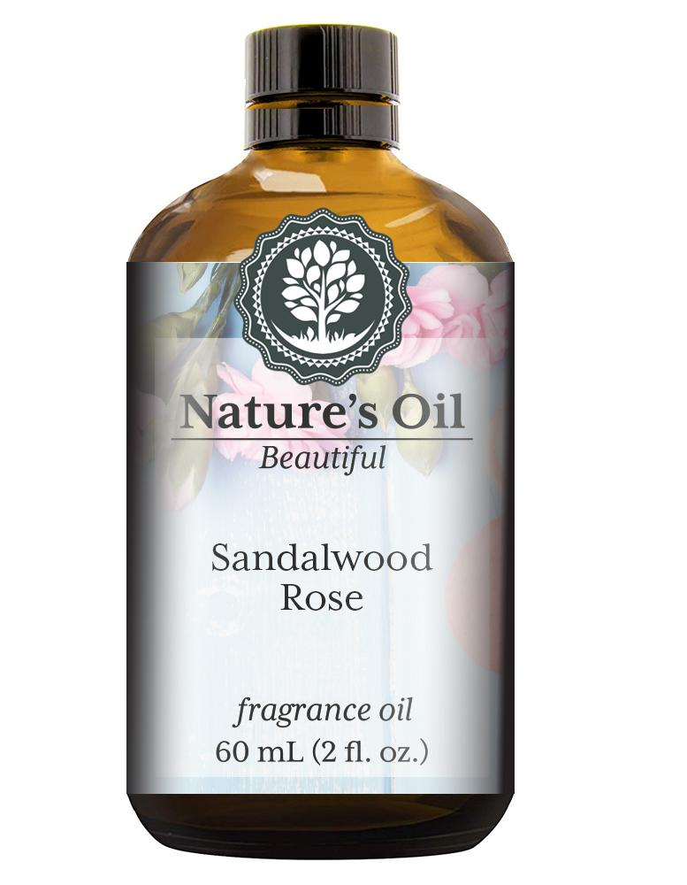 Nature's Oil Sandalwood Rose Fragrance Oil
