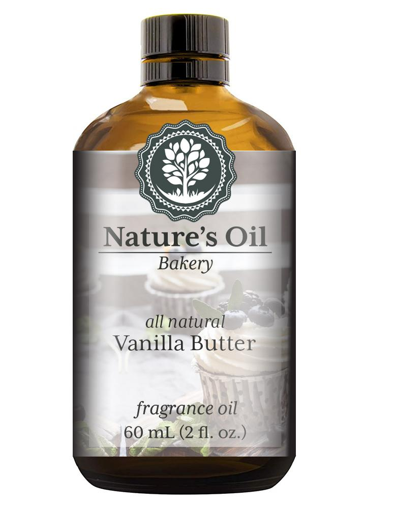 Nature's Oil Vanilla Butter (all natural) Fragrance Oil