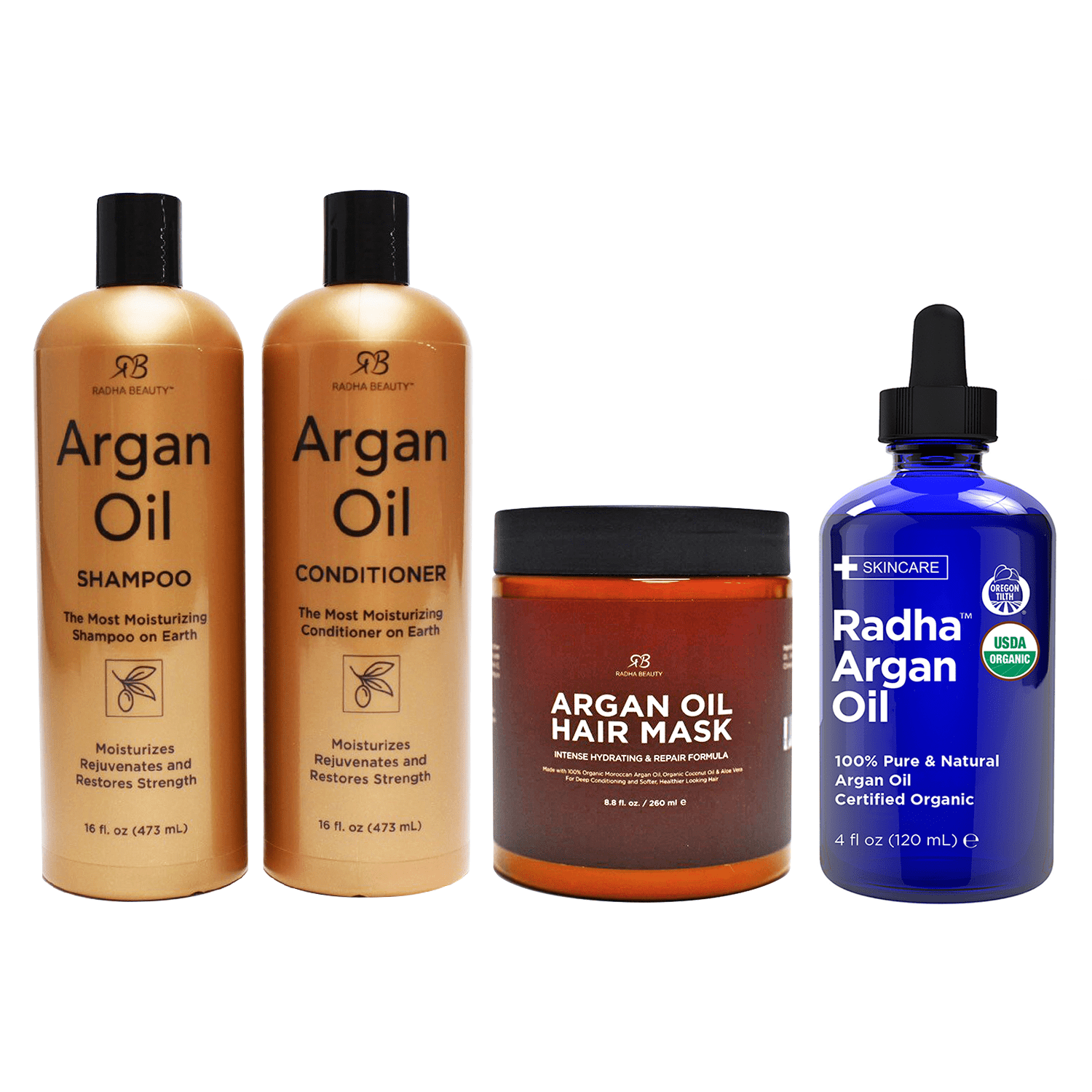 Radha Beauty Argan Hair Set