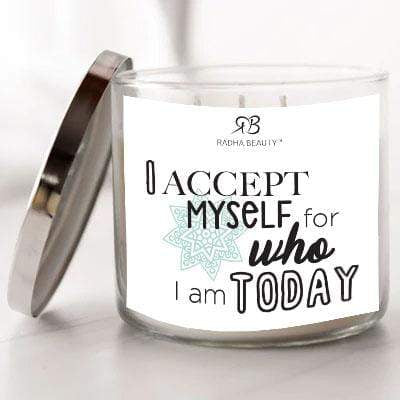 Radha Beauty I Accept Myself for Who I Am Today - Scented Candle