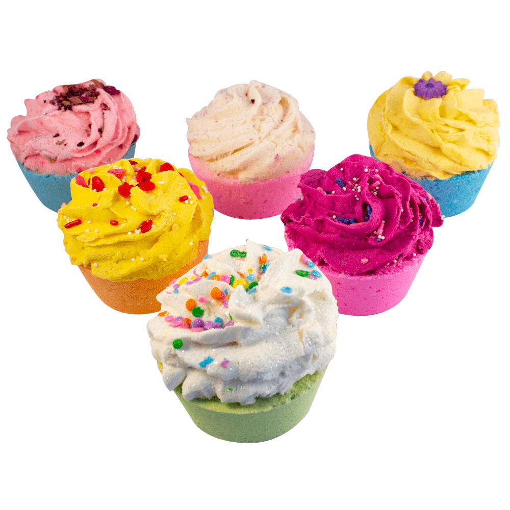 Radha Beauty Assorted Bath Bomb Cupcakes