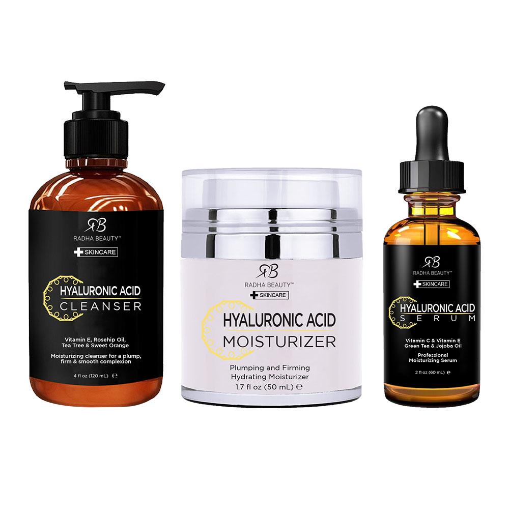 Radha Beauty Hyaluronic Acid Skincare Set