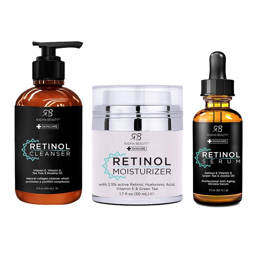 Radha Beauty Retinol Skincare Set