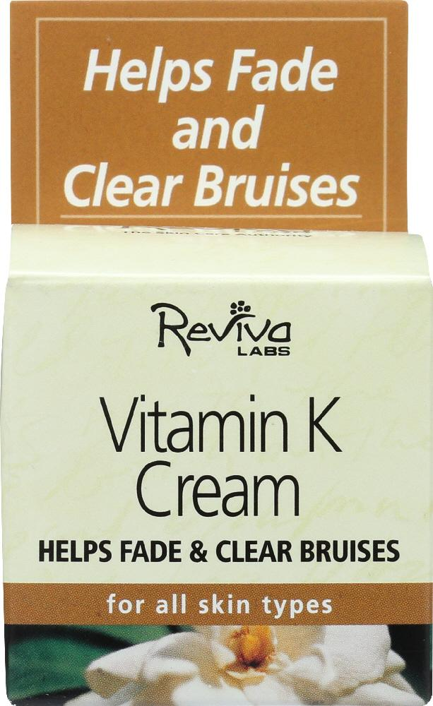 REVIVA LABS Vitamin K Cream, 1.5 Oz