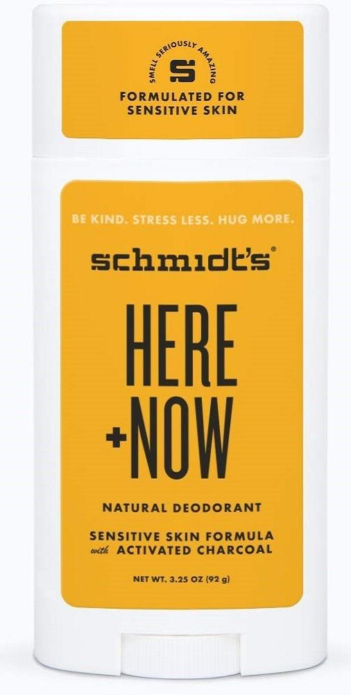 Schmidts Here + Now Natural Deodorant, 3.25 Oz