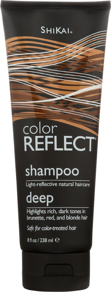 SHIKAI Color Reflect Deep Shampoo, 8 Oz