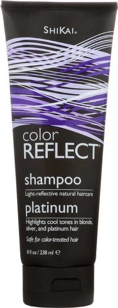 SHIKAI Color Reflect Shampoo Platinum, 8 Oz
