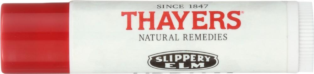 THAYERS Slippery Elm Orange Grove Organic Lip Balm, 0.15 Oz