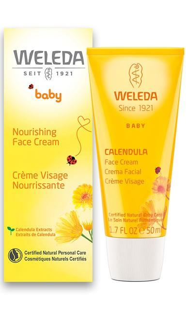 WELEDA Cream Face Calendula, 1.7 Oz