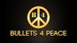 bullets 4 peace logo, jewelry made of recycled bullets