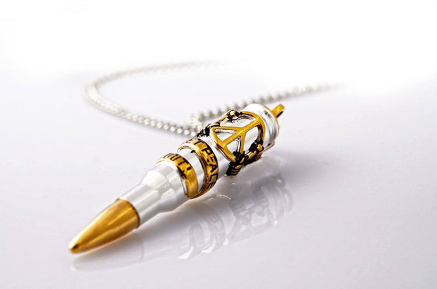 Signature Let Peace Out - Gold & Silver Plated