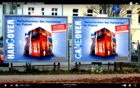 Ad busting by Mein Lieber Prost