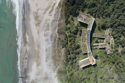 """Drone shot of abandoned """"Colonia Varese"""" by Dietmar Eckell"""