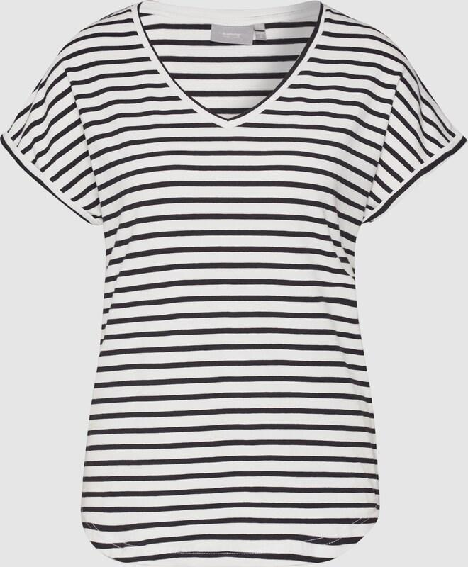 B Young striped black and white t-shirt