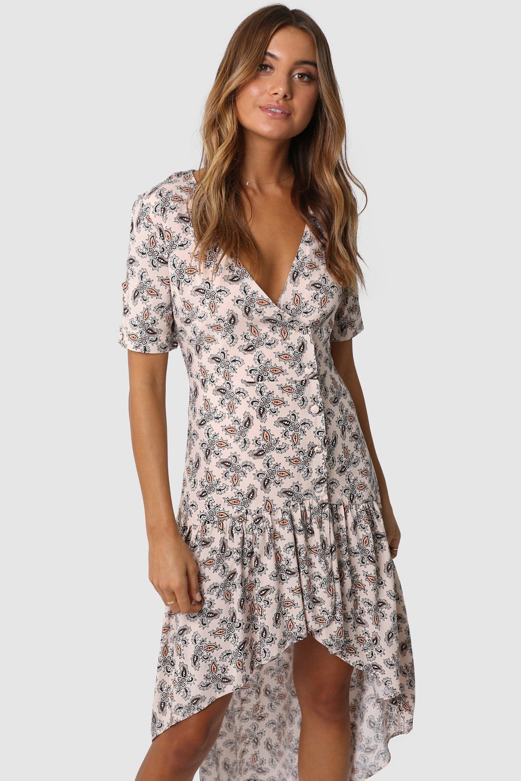 Lost in Lunar roxy maxi paisley print dress