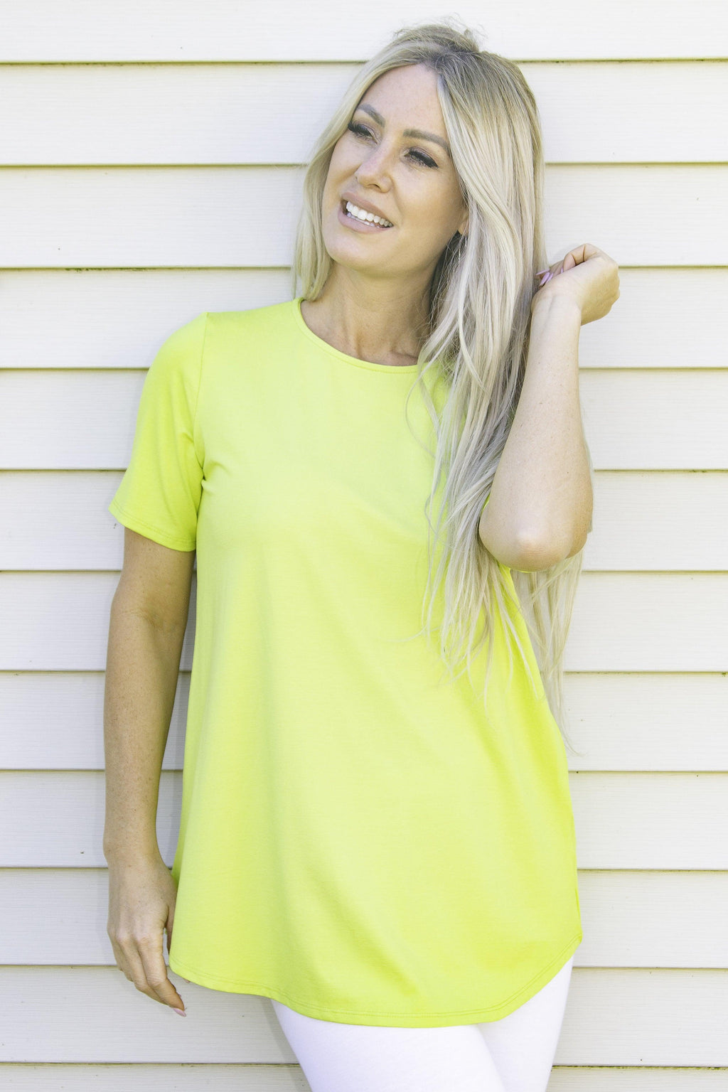 Pure Essence bamboo tee shirt - citrus