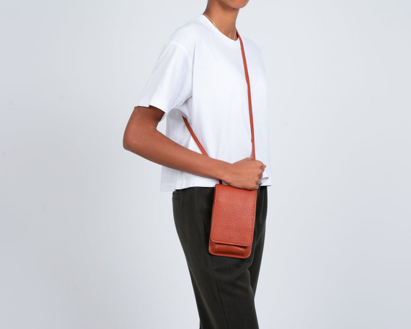 Co-Lab pumpkin tech crossbody