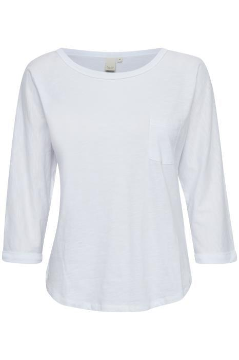 Part Two Bright White Pocket T-Shirt
