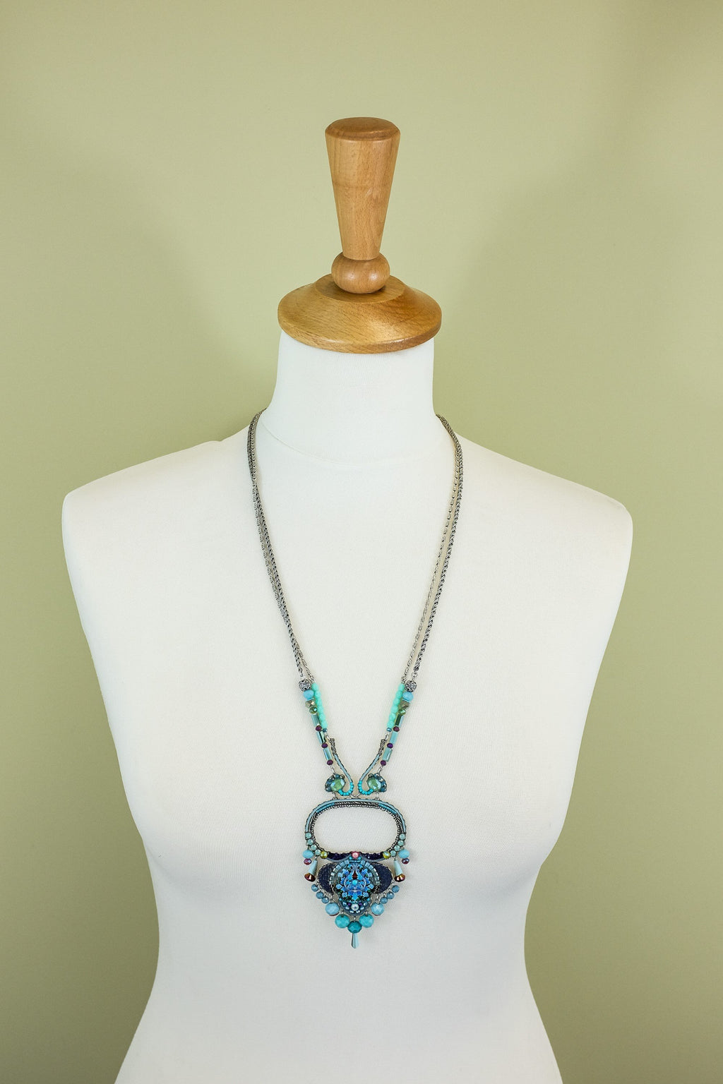 Ayalabar turquoise dreams soul necklace